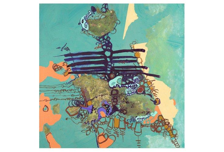 Deb Haugen, So Crazy Today, Canvas
