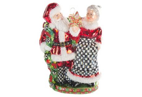 Mr. & Mrs. Claus Ornament
