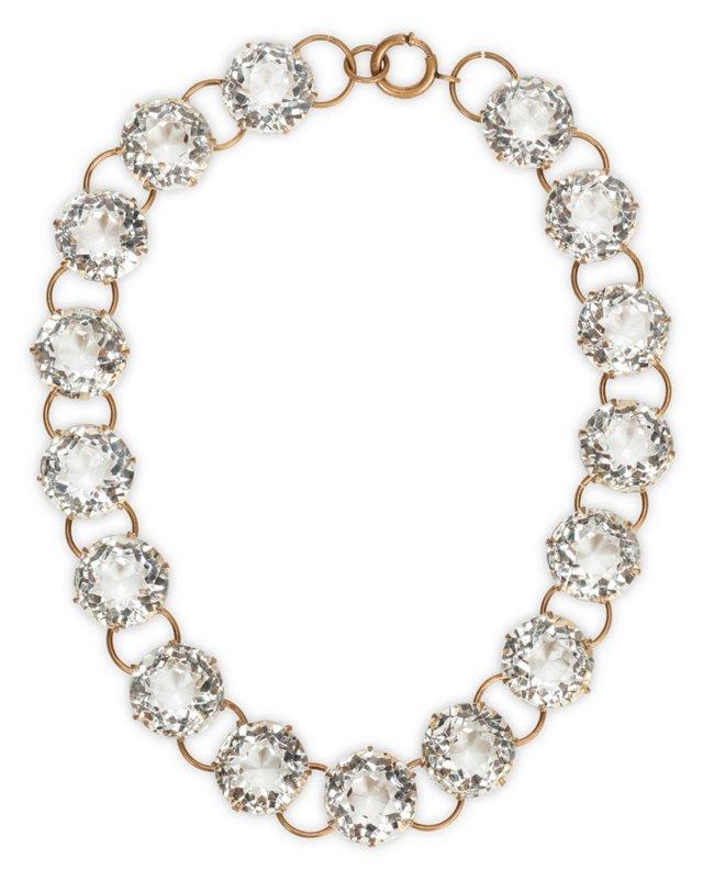 Headlight Crystal Necklace