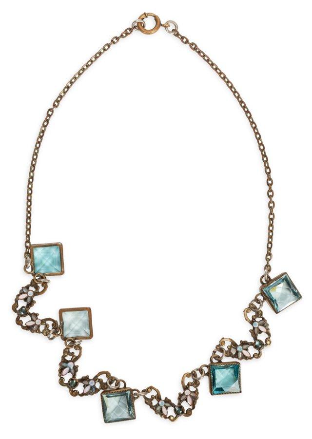 Crystal & Enamel Necklace