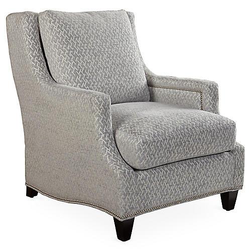 Crawford Club Chair, Stone