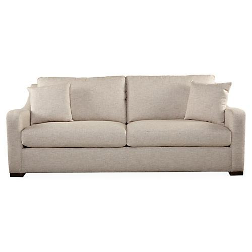 "Dela 91"" Sofa, Beige"