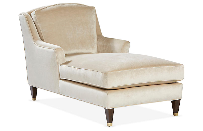 Kiely Chaise, Beige