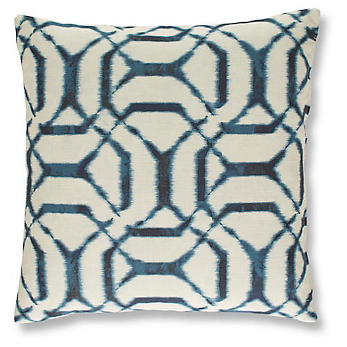 Palma 19x19 Pillow, Denim