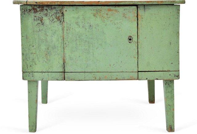 Green Scrub-Top Cabinet