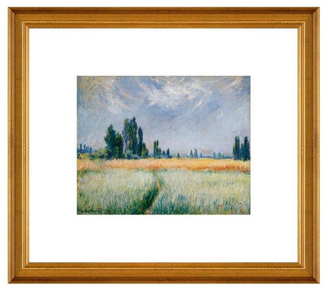 Monet, Wheat Field, 1881