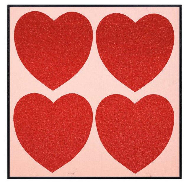 Andy Warhol, Hearts, C. 1979-84
