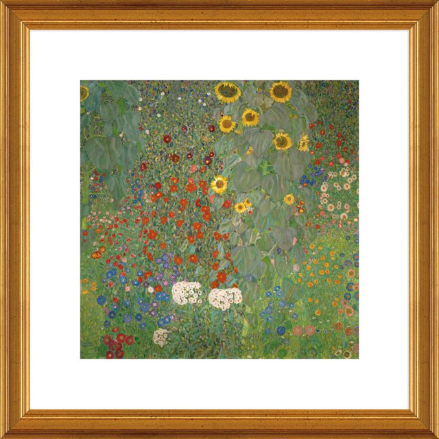 Klimt, Farm Garden with Sunflowers
