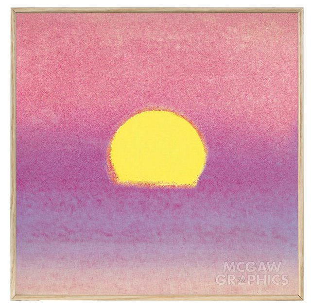 Andy Warhol, Sunset 1972 (lavender)