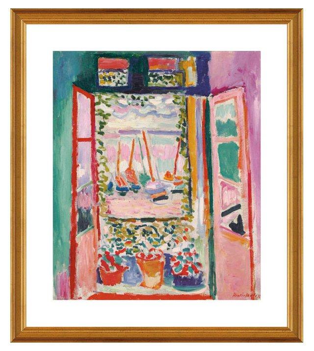 Matisse, Open Window, Collioure, 1905