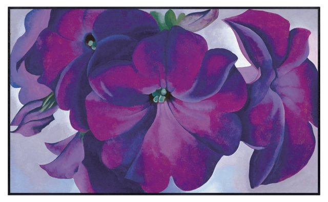Georgia O'Keeffe, Petunias, 1925