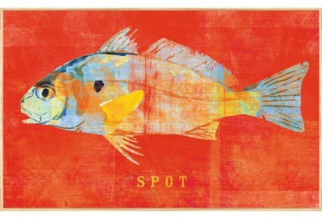 John W. Golden, Spot Print