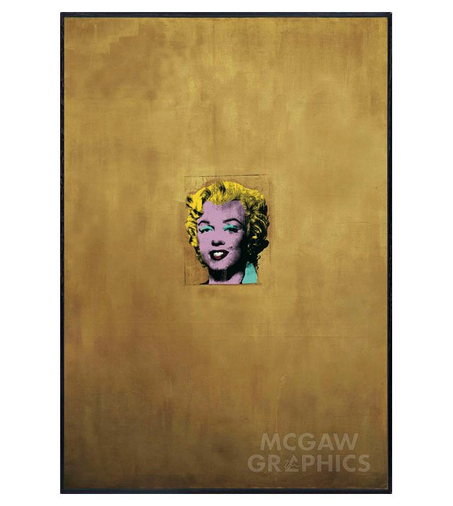 Andy Warhol, Gold Marilyn Monroe