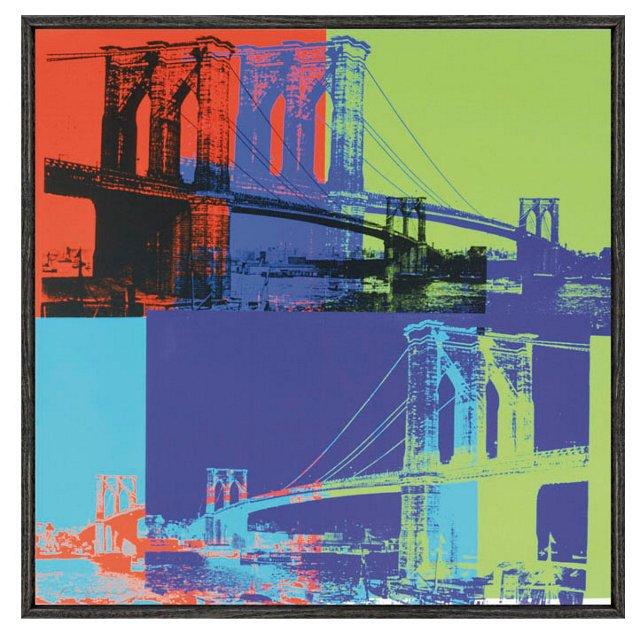 Warhol, Brooklyn Bridge, 1983