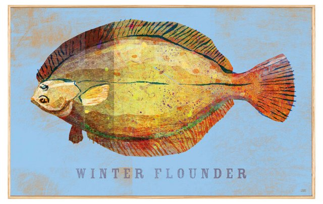 John W. Golden, Winter Flounder