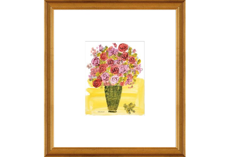 Warhol, Basket of Flowers
