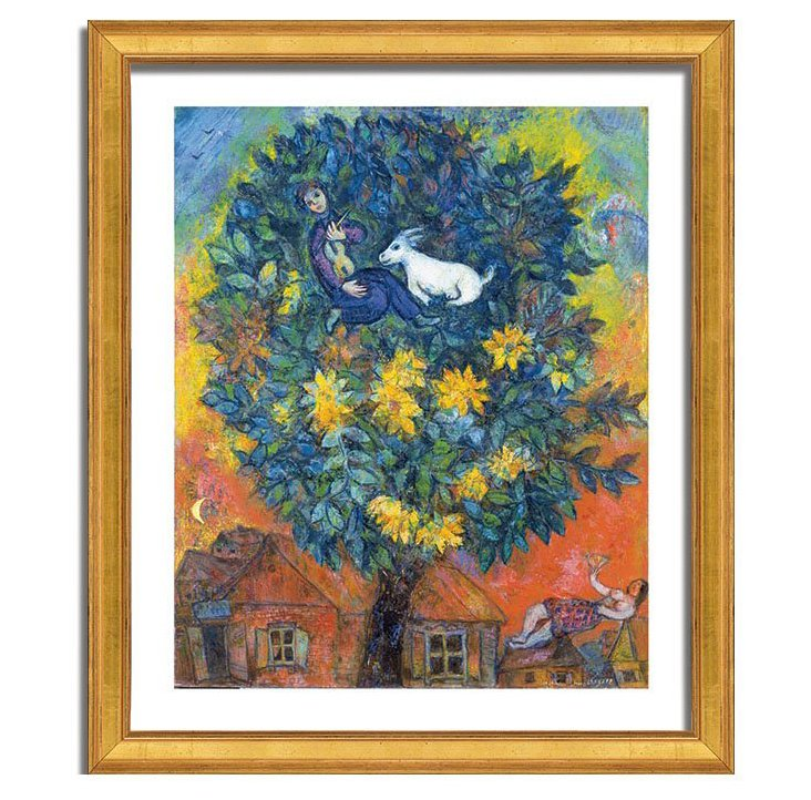 Autumn in the Village, Marc Chagall