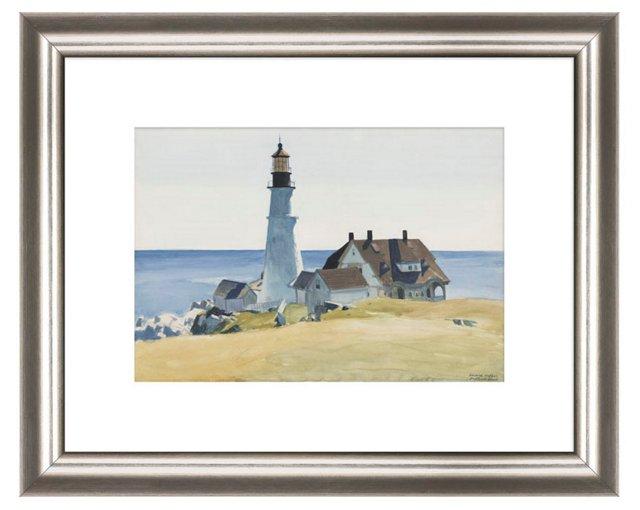 Edward Hopper, Lighthouse & Buildings