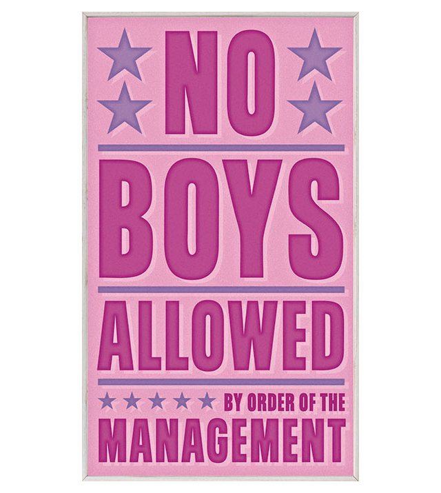 John Golden No Boys Allowed