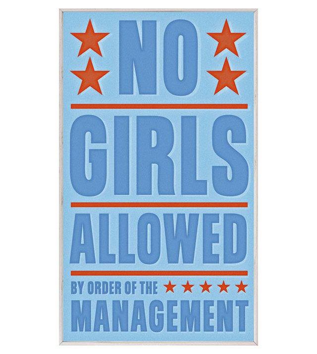 John Golden No Girls Allowed
