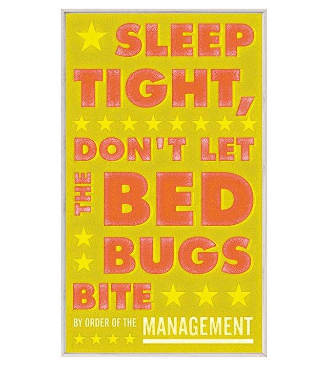J. Golden Don't Let Bedbugs Bite Yellow