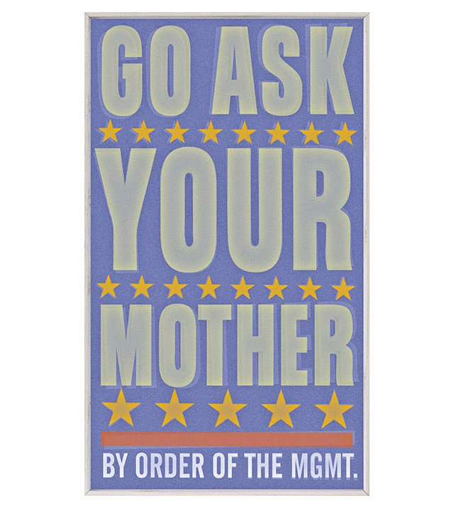 John Golden Go Ask Your Mother