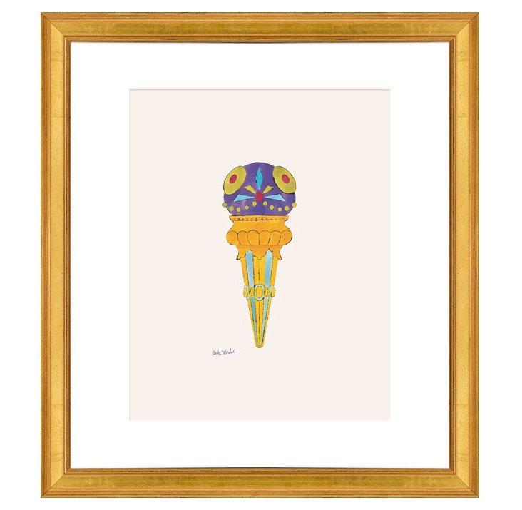 Andy Warhol, Ice Cream Dessert (purple)