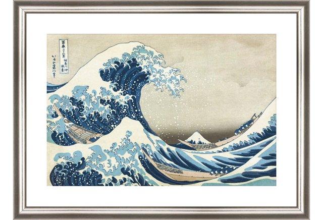 Hokusai, The Great Wave at Kanagawa