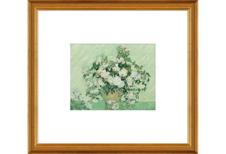 Vincent van Gogh, Vase with Pink Roses
