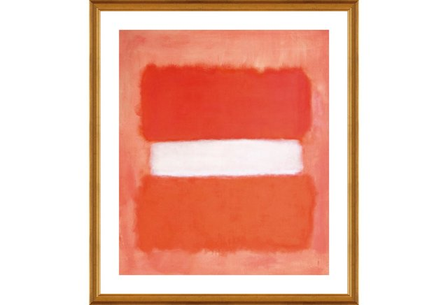 Mark Rothko, White Center II 1957