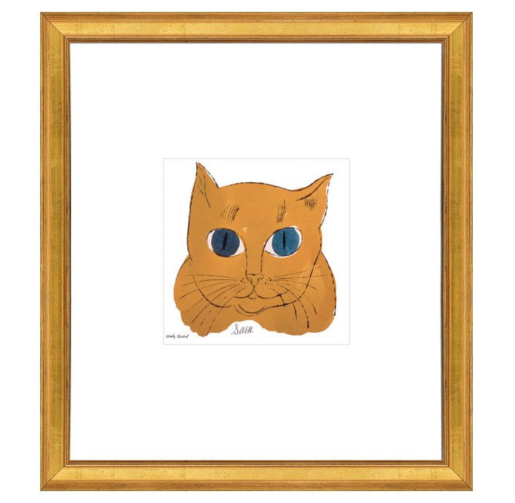 Andy Warhol, Gold Cat