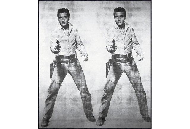 Warhol, Elvis 2 Times, 1963