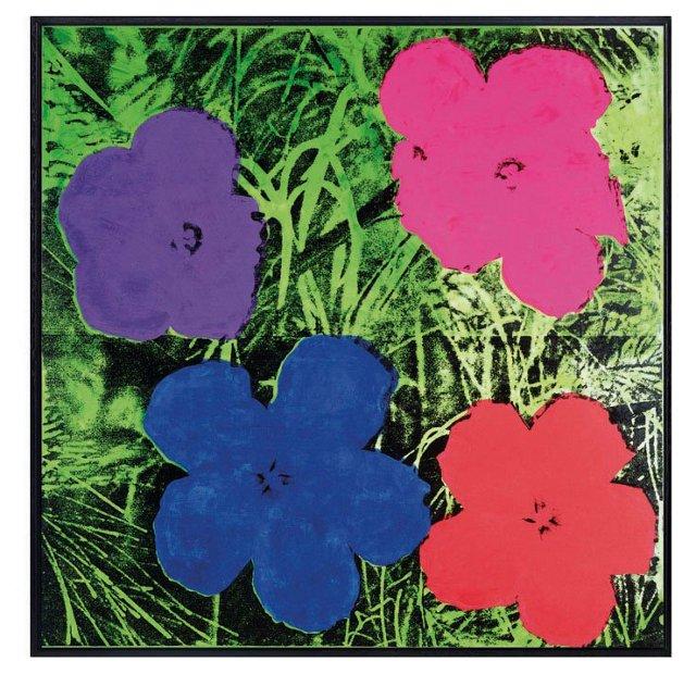 Warhol, Flowers II 1964