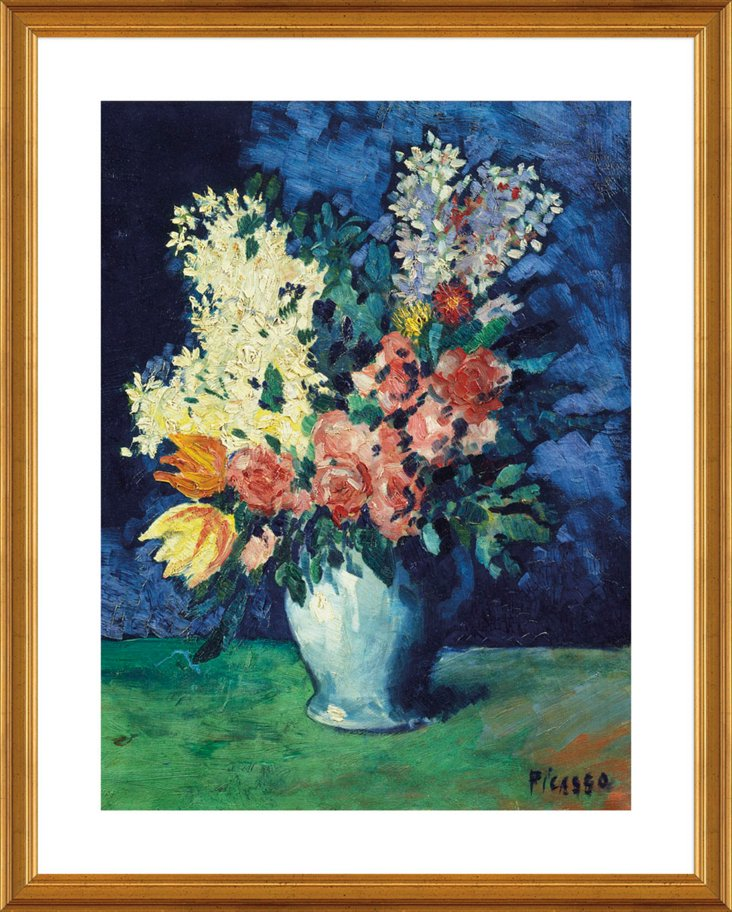 Picasso, Flowers, 1901