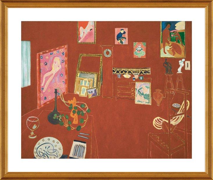 Matisse, Red Studio
