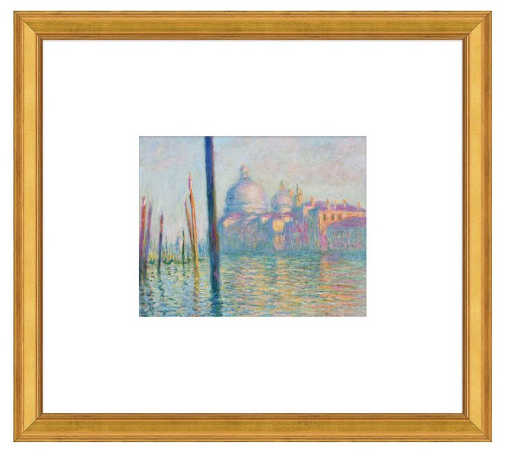 Claude Monet, Grand Canal, Venice, 1908
