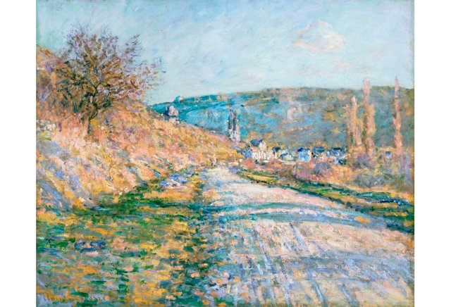 Monet, The Road to Vétheuil, 1879