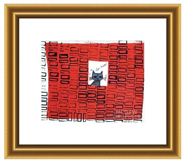 Andy Warhol, So Meow, 1958