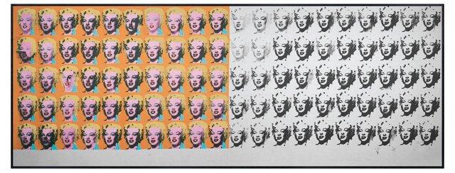Andy Warhol, Marilyn x 100, 1962