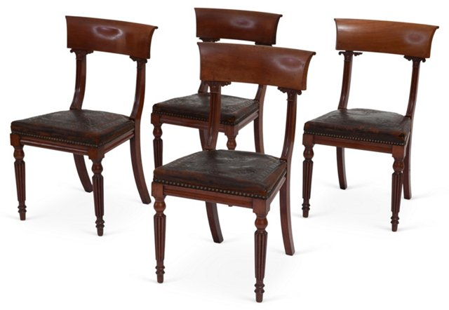 William IV Chairs, Set of 4