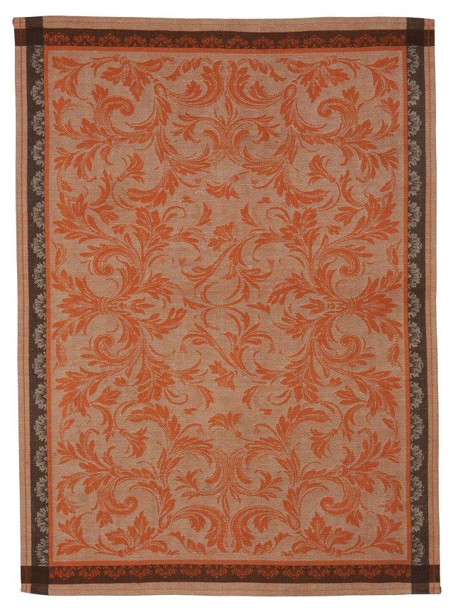 Arabesque Linen Tea Towel