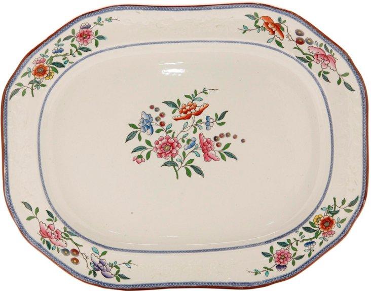 19th-C. Ironstone Serving Platter