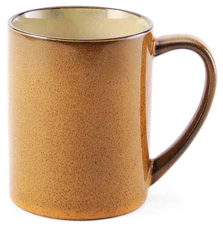 S/6 Mugs, Gold