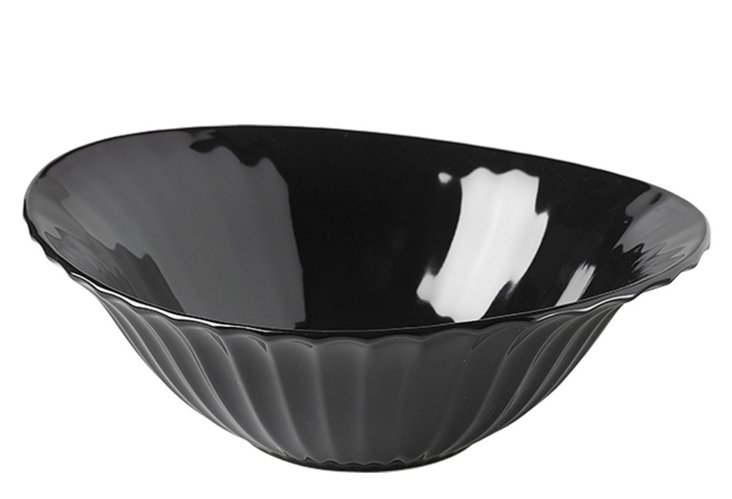 Dynasty Vegetable Bowl, Black