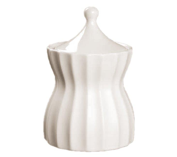 S/2 Dynasty Sugar Bowls, White