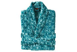 Missoni Joy Bath Robe, Aqua