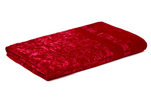 Joy Bath Towel, Red