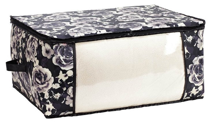 Jumbo Storage Bag, Floral