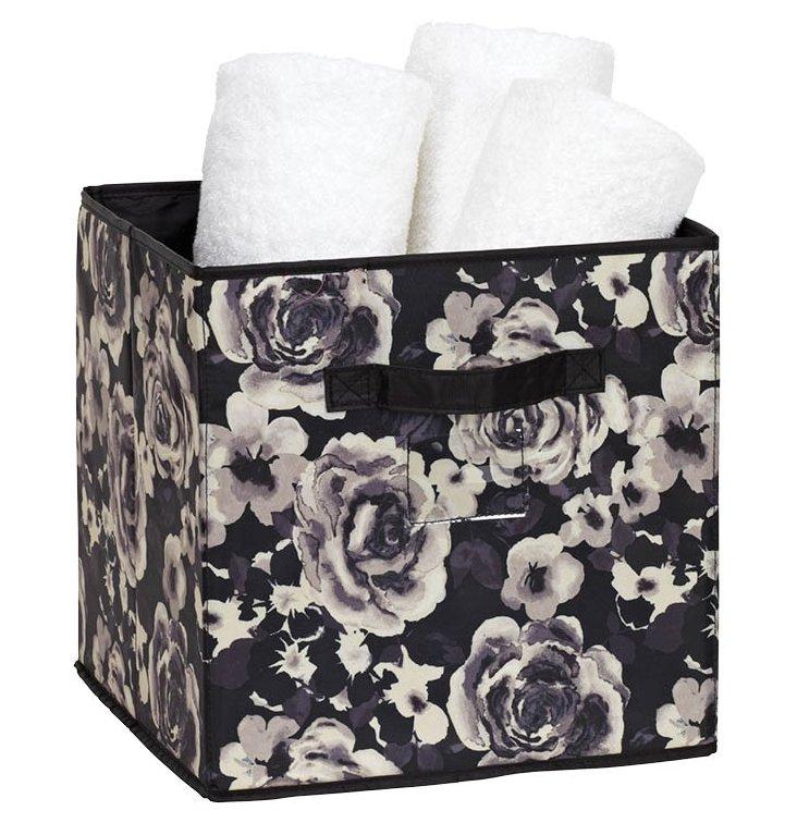 Storage Cube, Floral