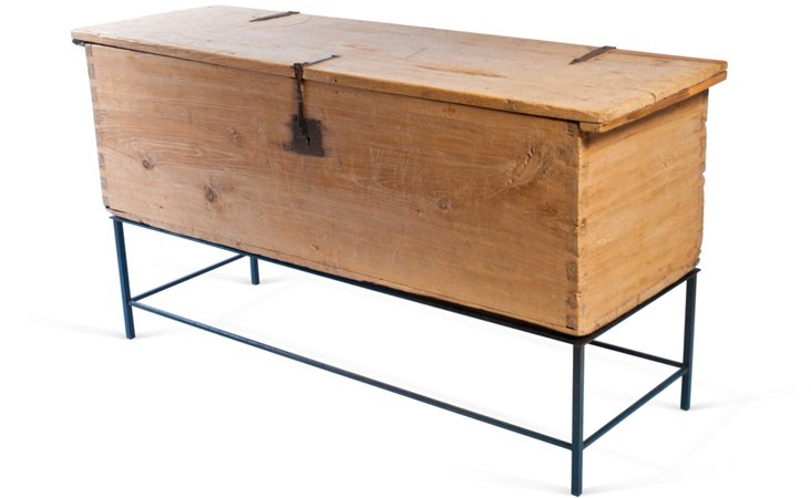 Sabino Wood Coffer
